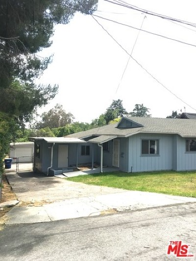 Altadena Single Family Home For Sale: 338 E Mendocino Street