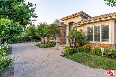 Sherman Oaks Single Family Home For Sale: 5234 Leghorn Avenue
