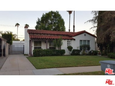 Glendale Single Family Home For Sale: 608 Ivy Street