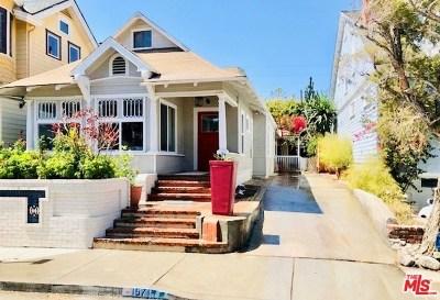Santa Monica Single Family Home For Sale: 157 Hart Avenue