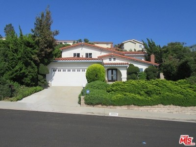 Single Family Home For Sale: 28522 Leacrest Drive
