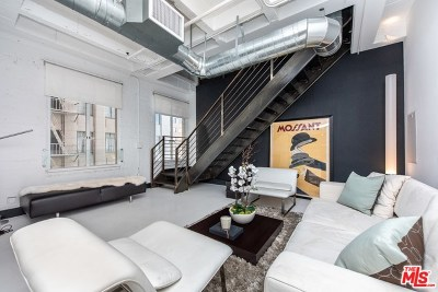 Los Angeles Condo/Townhouse For Sale: 6253 Hollywood Boulevard #507