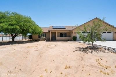 Yucca Valley Single Family Home For Sale: 7645 Victoria Avenue
