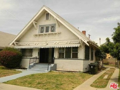 Los Angeles Single Family Home For Sale: 211 W 43rd Street