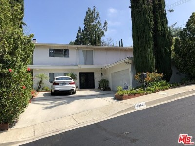 Woodland Hills Single Family Home For Sale: 4400 Pampas Road