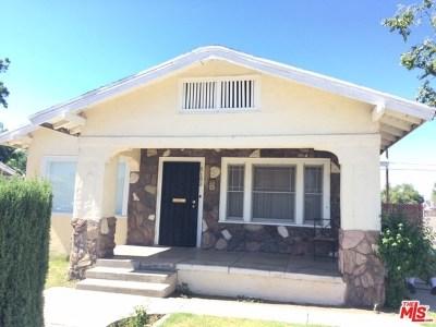 Fresno Single Family Home For Sale: 3153 E Butler Ave