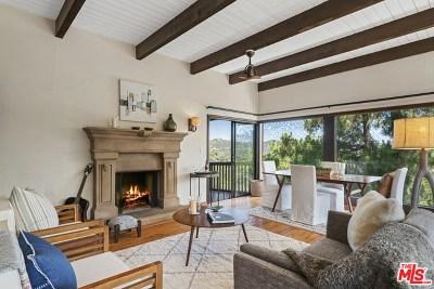 Topanga Single Family Home For Sale: 19901 Grand View Drive