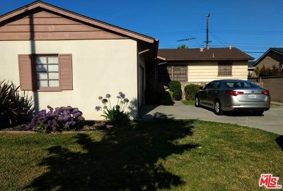 Single Family Home For Sale: 14000 Arcturus Avenue