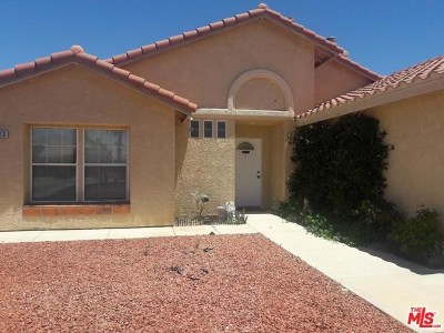 Yucca Valley Single Family Home For Sale: 8523 Barberry Avenue