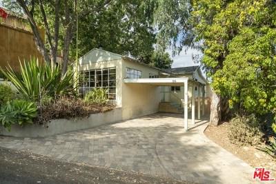 Topanga Single Family Home For Sale: 816 Basin Drive