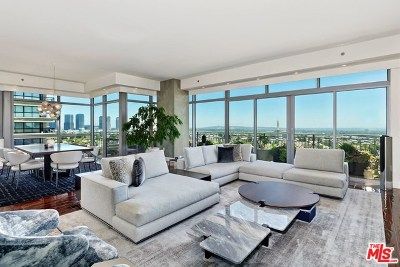 Los Angeles County, Orange County Condo/Townhouse For Sale: 10800 Wilshire #1004