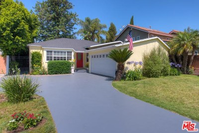 Sherman Oaks Single Family Home For Sale: 4433 Stern Avenue