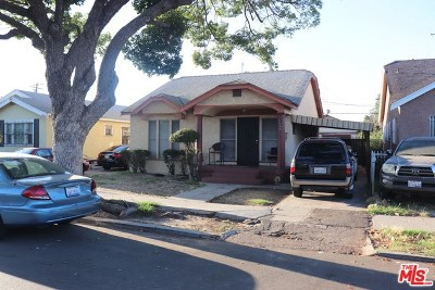 Los Angeles Single Family Home For Sale: 1245 W 65th Street