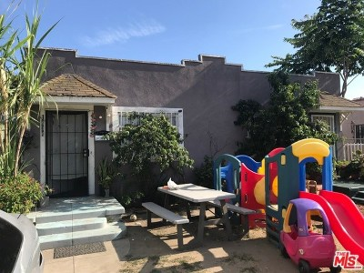 Los Angeles Multi Family Home For Sale: 1434 W 53rd Street