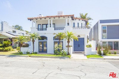 Hermosa Beach Single Family Home For Sale: 1502 Bonnie Brae Street