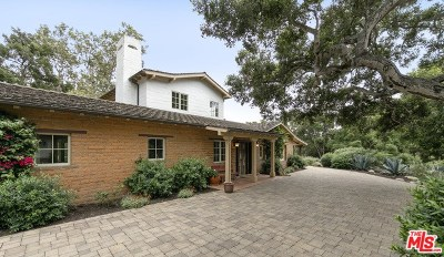 Santa Barbara County, San Luis Obispo County Single Family Home For Sale: 2960 Torito Road