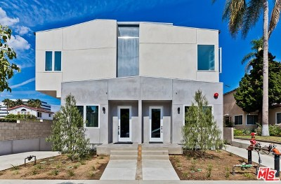 Culver City Condo/Townhouse For Sale: 4034 La Salle Avenue