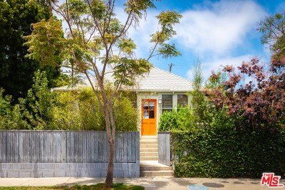 Santa Monica Single Family Home For Sale: 701 Marine Street