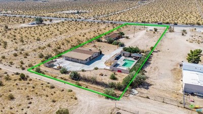 Joshua Tree Multi Family Home For Sale: 63836 Twentynine Palms Highway