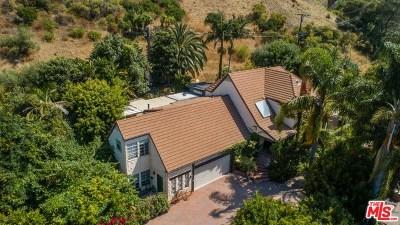 Malibu Single Family Home For Sale: 23233 Mariposa De Oro Street