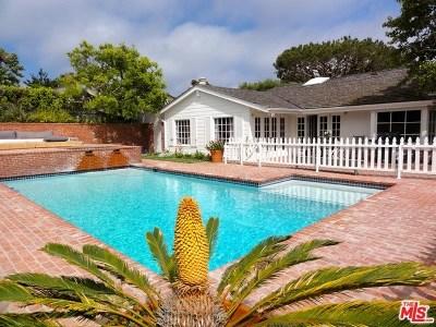 Malibu Single Family Home For Sale: 29261 Sea Lion Place Place
