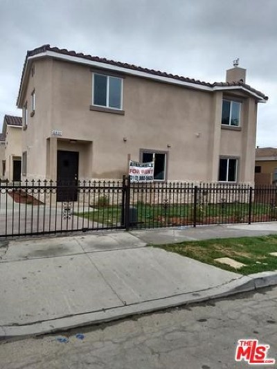 Paramount Multi Family Home For Sale: 6803 72nd Street