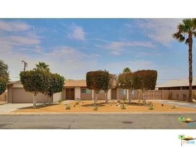 Palm Springs Multi Family Home For Sale: 2890 N Biskra Road