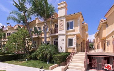 Sherman Oaks Condo/Townhouse For Sale: 14535 Margate Street #6