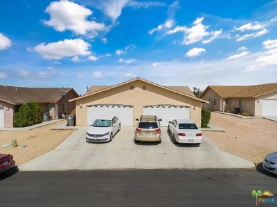 Yucca Valley Multi Family Home For Sale: 7259 Murray Lane