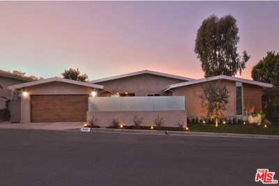 Sherman Oaks Single Family Home For Sale: 3423 Scadlock Lane