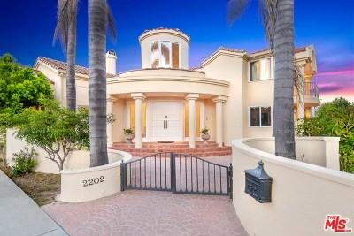 Santa Monica Single Family Home For Sale: 2202 San Vicente