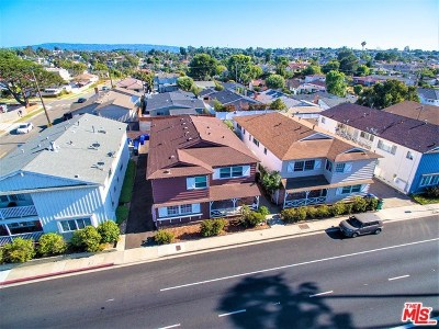 Manhattan Beach Multi Family Home For Sale: 1250 Manhattan Beach