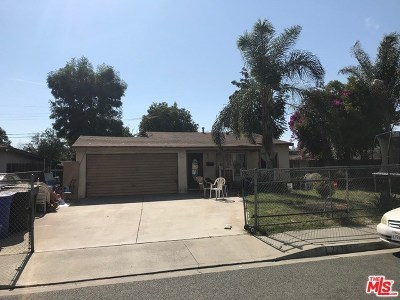 Pomona Single Family Home For Sale: 2215 Cynthia Street