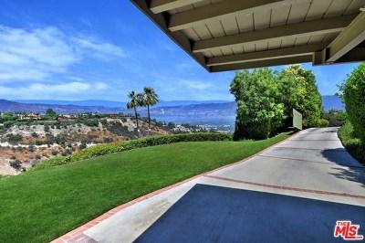 Sherman Oaks Single Family Home For Sale: 3641 Glenridge Drive