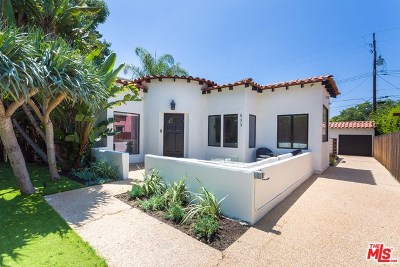 West Hollywood Single Family Home For Sale: 533 N Sweetzer Avenue