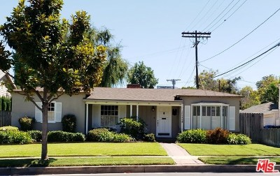 Single Family Home For Sale: 10542 Moorpark Street