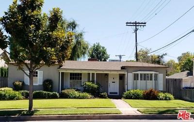 Toluca Lake Single Family Home For Sale: 10542 Moorpark Street