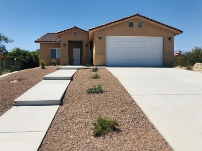 Desert Hot Springs Single Family Home For Sale: 13755 Via Real