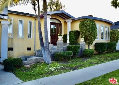 Los Angeles Single Family Home For Sale: 5103 Southridge Avenue