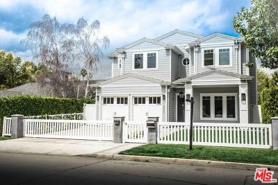 Studio City Single Family Home For Sale: 13001 Woodbridge Street