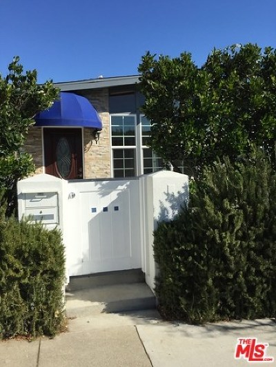Santa Monica Single Family Home For Sale: 1141 24th Street