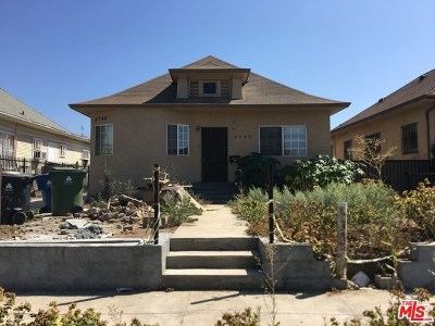 Los Angeles County Single Family Home For Sale: 2746 W 14th Street