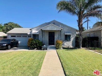 Compton Single Family Home For Sale: 919 W Stockwell Street