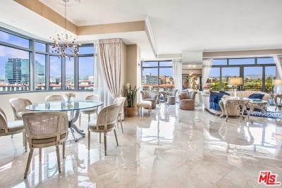 Los Angeles County, Orange County Condo/Townhouse For Sale: 10800 Wilshire #601