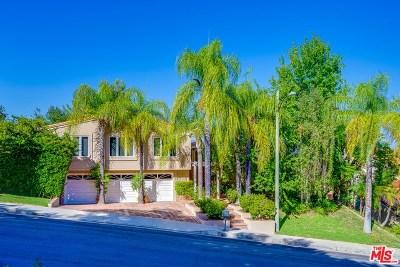 Calabasas Single Family Home For Sale: 24919 Lorena Drive