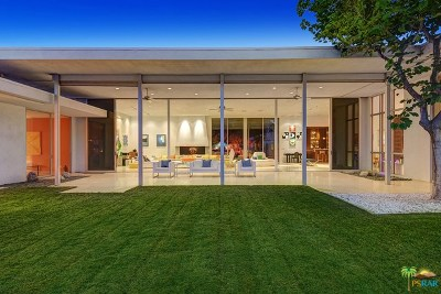Palm Springs Single Family Home For Sale: 650 E Tachevah Drive