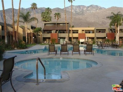 Palm Springs Condo/Townhouse For Sale: 1655 E Palm Canyon Drive #510