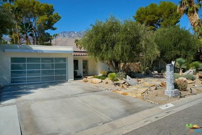 Palm Springs Single Family Home For Sale: 247 N Easmor Circle