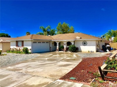 Hemet Single Family Home For Sale: 449 Whicha Way
