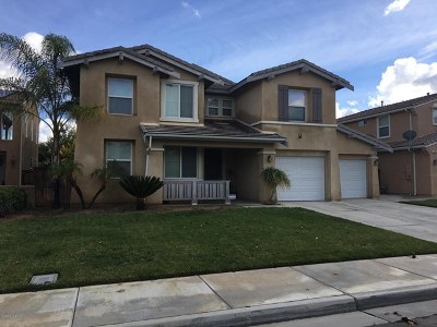 Moreno Valley Single Family Home Sold: 14956 Fair Meadows Lane